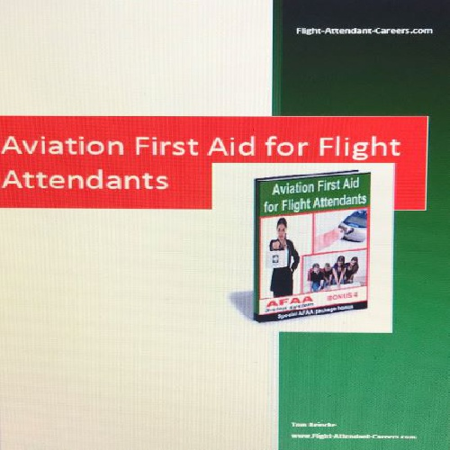 AVIATION FIRST AID FOR FLIGHT ATTENDANTS
